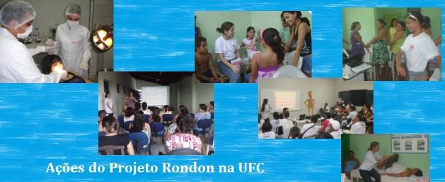 Ações do Projeto Rondon na UFC