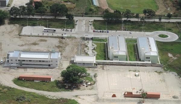 Vista aérea do Campus da UFC em Quixadá