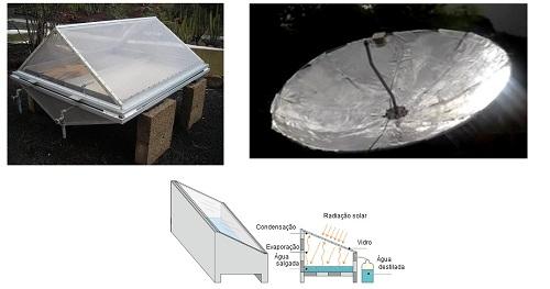 Estudo da viabilidade da destilação solar para dessalinizar água no sertão de Crateús.